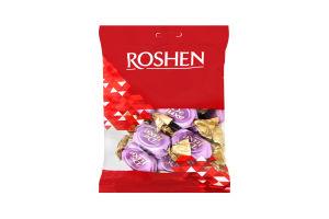 Цукерки Roshen De Luxe бісквіт з мякою карамеллю 135г х6
