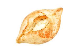 Пирожки открытые погача с сыром и зеленью Фора