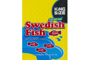 Swedish Fish Soft & Chewy Candy King Size - 18 CT