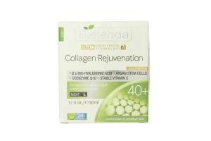 Крем для лица ночной укрепляющий Жидкокристаллическая биотехнология 7D 40+ Bielenda 50мл