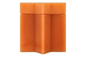 """Мед акацієвий в унікальній упаковці з бджолиного воску """"Зірка Давида"""""""