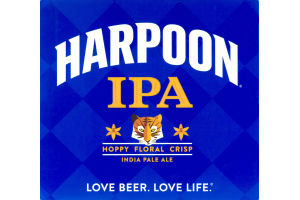 Harpoon IPA Hoppy Floral Crisp - 12 CT