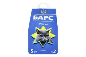 Наповнювач для котів Барс №2 5кг лаванда х4