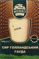 Сыр 54% голландский Гауда Мукко к/у 240г