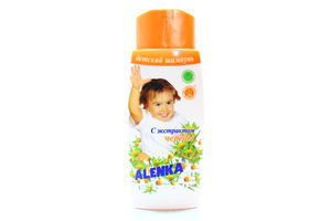 Шампунь для волос детский с экстрактом череды Alenka 250г