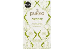 Pukka Cleanse Herbal Tea Sachets - 20 CT