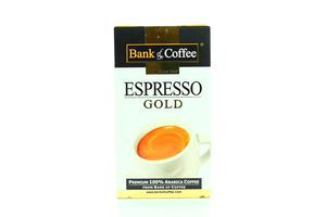 Кава Bank of Coffee Espresso gold 250г