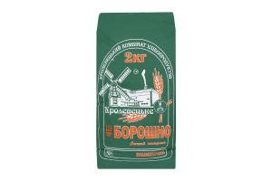 Мука пшеничная высшего сорта Кролевецький Комбінат Хлібопродуктів м/у 2кг
