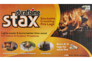 Duraflame Stax Stackable Crackling Fire Logs - 3 CT