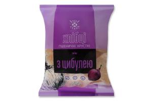 Хлібці хрусткі пшеничні з цибулею Pop Snack м/у 30г