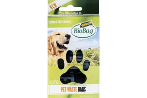 BioBag Pet Waste Bags - 45 CT