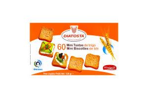 Тости пшеничні Minigrill Diatosta к/у 120г