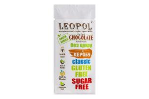 Шоколад без сахара Кэроб классический Green series Leopol' м/у 25г