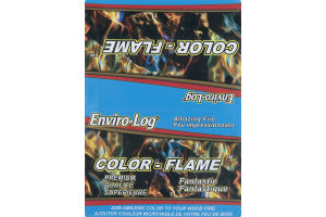 Enviro-Log Color-Flame