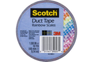 Scotch Duct Tape Rainbow Scales