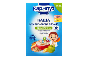 Каша Карапуз Мультизлакова 5злаків 250г