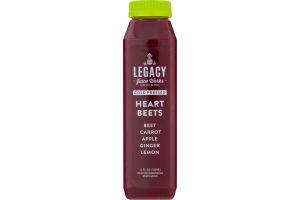 Legacy Juice Works Cold Pressed Juice Heart Beets