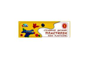 Пластилин Любимые игрушки Гамма 5 цветов