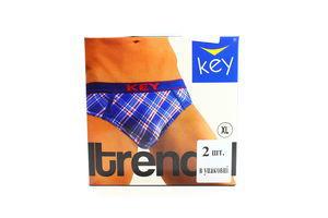Труси Key чоловічі Trend 2 шт MPP 410 A4 ZI XL