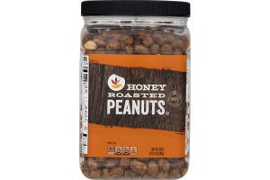Ahold Peanuts Honey Roasted