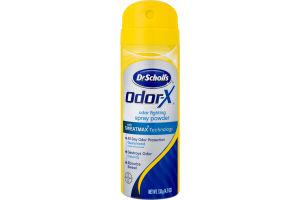 Dr. Scholl's Odor-X Spray Powder