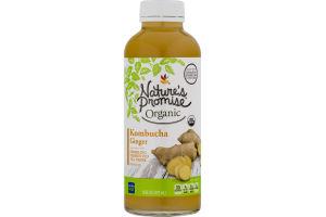 Nature's Promise Organic Kombucha Ginger