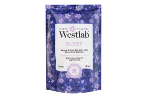 Соль для ванны Westlab Sleep лаванда и жасмин