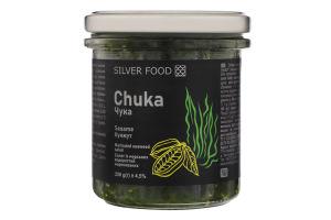 Салат из морских водорослей маринованных с кунжутом Чука Silver Food с/б 250г