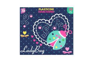 Пластилін CoolForSchool Ladybug 10кол. Арт.60204 х6