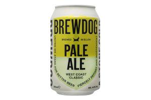 Пиво 330мл 4.2% світле фільтроване Pale Ale Brewdog ж/б