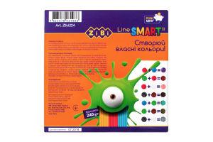 Набір пластиліну 12 кольорів для дітей від 3рок №ZB.6224 ZiBi 1шт