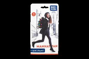 Колготи дитячі Boy&Girl Manhattan 50den 128-134 grey