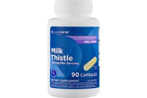 CareOne Milk Thistle 280mg Capsules - 90 CT