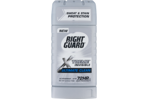 Right Guard Xtreme Invisible Antiperspirant Ultimate Clean