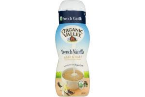 Organic Valley Half & Half French Vanilla