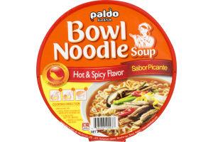 Paldo Bowl Noodle Soup Hot & Spicy
