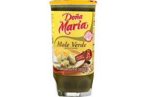Dona Maria Mole Verde Mexican Sauce