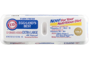 Eggland's Best Grade A Eggs Extra Large - 12 CT