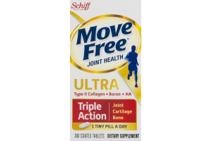 Schiff Move Free Ultra Joint Health Triple Action Coated Tablets - 30 CT