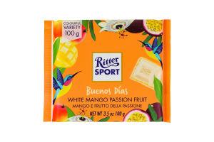 Шоколад белый Ritter Sport манго-маракуйя