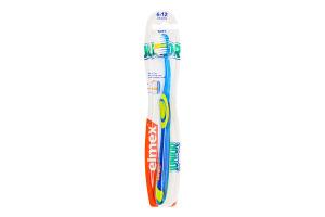Щетка зубная для детей 6-12лет мягкая Junior Elmex 1шт