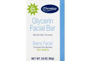 Dermisa Glycerin Facial Bar Normal Skin Formula