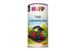 Чай для детей от 6мес из лесных ягод Hipp ж/б 200г
