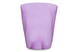 Горшок д/цвет Prosperplast Rocka прозр фиолет140мм