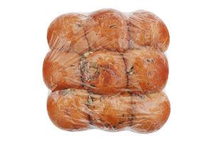 Пампушки с чесноком Прилуцький хлібозавод м/у 0.37кг