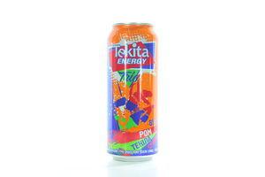 Напиток слабоалкогольный 0.5л 8% Tekita energy Trio Rum Tequila Strawberry ж/б