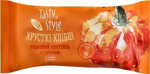 Хлібці хрусткі злаковий коктейль з гарбузом Tasty Style м/у 50г