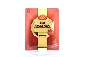 Сыр Sierpc Krolewski 45% нарезка 150г
