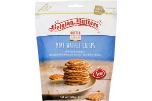 Belgian Butters Butter Biscuits Mini Waffle Crisps