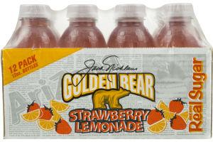 Golden Bear Strawberry Lemonade - 12 PK